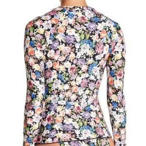 Lucky Brand   floral rash guard  NEW! S